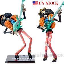 "One Piece NEW WORLD Zero Brook Figure Japanese Anime Figurine Toy Gift 18cm/ 7"""