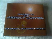 BONEY M VS HORNY UNITED - MA BAKER / SOMEBODY SCREAM - 4 MIX UK CD SINGLE