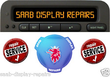 ☛☛☛☛☛☛ saab 93 (9-3) & 95 (9-5) sid display unit worldwide service de réparation ☚☚☚☚☚☚