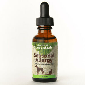 Animal Essentials Seasonal Allergy 1 oz   Herbal Relief for Dogs and Cats
