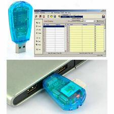 USB-SMS-Backup SIM-Kartenleser Writer Standard-Handy GSM / CDMA Erschwingliche S