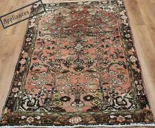 OLD WOOL HAND MADE ORIENTAL FLORAL RUNNER AREA RUG CARPET 158 X 95CM