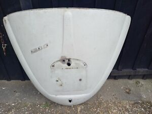 VW CLASSIC 1964-1966 only BEETLE WHITE DECKLID DECK LID ENGINE LID - KT6 COLLECT