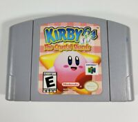 Kirby 64 The Crystal Shards - Nintendo N64 Game Authentic EXCELLENT
