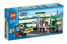TRUCK & FORKLIFT, Lego City: Cargo 7733, NEW in Sealed Box!