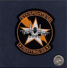VF-33 STARFIGHTERS F-14 TOMCAT US NAVY Grumman Fighter Squadron Patch