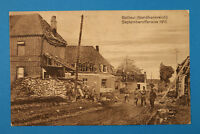 Nord 59 AK CPA Bailleul 1915 Septemberoffensive Rue Maisons Ruines 1.WK WWI +++