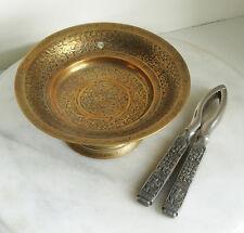 Antico, OTTONE, inciso, Pin/moneta piatto, e il design ROMANO Nut Cracker