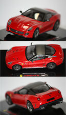 Hotwheels Elite Ferrari 599 GTO rouge 2010 1/43 T6267