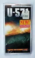 NEW U-571 VHS 2001 Special Edition Thriller Bill Paxton Matthew McConaughey