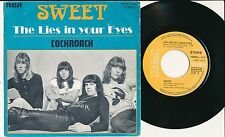 "THE SWEET 45 TOURS 7"" BELGIUM THE LIES IN YOUR EYES"