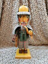 """Vintage Steinbach Nutcracker Sherlock Holmes 12"""" Nutcracker S681"""