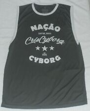 CRIS CYBORG SIGNED AUTO'D LOGO JERSEY UFC MMA BELLATOR CHUTE BOX INVICTA FC