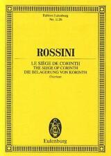 Rossini: The Siege of Corinth Overture (Study Score) ETP1126
