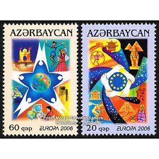 Aserbaidschan Azerbaijan Europa CEPT 2006, Integration, kmpl. Satz ** postfrisch