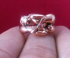 Inn Koo Couple Man Woman Ring Thai Amulet Love Sex Attract Charm Talisman Magic