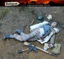 Échelle 1/35 résine kit WW2 fallen soldat allemand