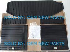 Genuine OEM 2007-2015 Mazda CX-9 5-Piece All Season Rubber Cargo Tray Set NEW