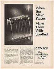 The 1976 Gretsch Sho-Bud Model 6164 Pedal Steel guitar ad 8 x 11 advertisement