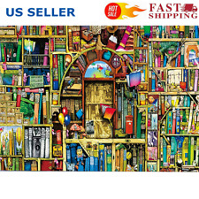 Jigsaw puzzles 1000 pieces Old Bookshelf Adult Kids Educational Puzzle Toy Gifts