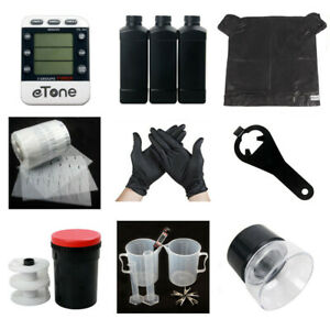 Darkroom Developing Equipment Kit With Tank For 120 135 35mm B&W Film Processing