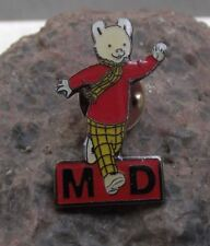 Rupert the Bear Childrens Book Television TV Character Tie Jacket Pin Badge