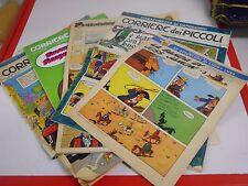 """5 riviste CORRIERE DEI PICCOLI anni '60 """" Puffi Puffina """" vintage"""