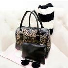 Transparent Handbag Shoulder Bag Clear Jelly Purse Women Clutch PVC Tote WKAU