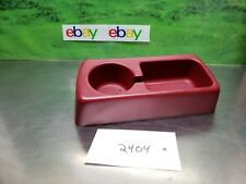 1994 1995 1996 Ford F150 F250 F350 Bench Seat Cup Holder BRIGHT RED 94-96 OEM