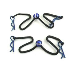 Hot Racing BWP123B06 Blue Body Clips Leash