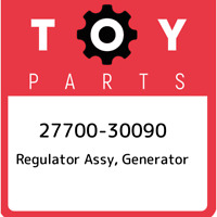 27700-30090 Toyota Regulator assy, generator 2770030090, New Genuine OEM Part