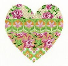 DMC-Cross Stitch Kit-Arreglo Floral (corazón) BK1672