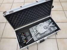 Mato 1/16 2.4GHz 100% All Metal RC Tiger 1 BB Tank + Trolley Case + Smoke&Sound