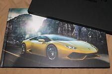 2015 Lamborghini LP610-4 HURACÁN hardcover brochure Prospekt catalogue ITALIAN