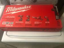 NEW Milwaukee 2695-24 M18 18-Volt Cordless Power Lithium-Ion 4-Tool Combo Kit