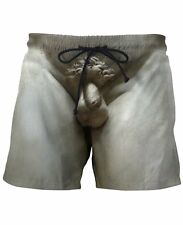 David Swim Trunks Beach Polo Greek frat Surf shorts fashion NWT