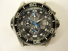 Citizens Eco-Drive Diver's 200M Stainless Steel Chronograph Watch Date