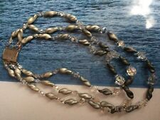 Antiguo Collar Perlas De Aurora boreal