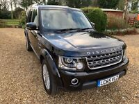 Land Rover Discovery 4 2016 SDV6 SE Tech Santorini Black / Black Leather 88.7k
