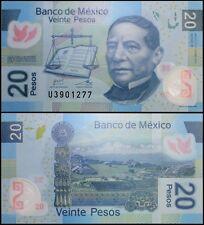 Mexico 20 Pesos, 2012, P-122j, UNC, Series-R, Polymer