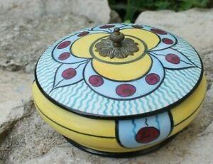 joli coffret en porcelaine de limoge ou sèvres