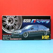 Aoshima 1/24 20 inch SSR Professor VF1 Wheel & Tire model kit set #046432