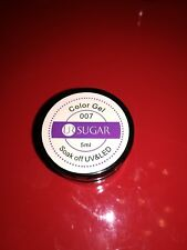 UR SUGAR Color Gel 007-Purple/VIOLA Soak Off UV&LED 5ml per Decorazioni