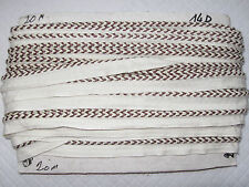 20 METRES DE PASSEPOIL GALON ANCIEN PASSEMENTERIE/N°14D