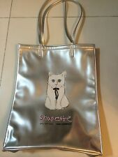 Shu Uemura Karl Lagerfel Shupette Tote Bag Holiday 2014 Cat GWP fits A4