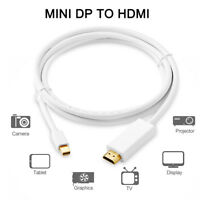 3M Mini Display Port DP Thunderbolt to HDMI Cable Adapter For MacBook Pro iMac