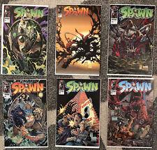 Spawn lot of 11 comics 22 23 28 29 30 31 32 33 34 35 37 McFarlane 1st print