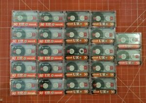 22x Maxell UR 90 Position Normal Kassetten guter Zustand aus Nachlass