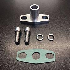 Turbocompresseur vidange d'huile retour bride GT3071R, GT3076R, GT35, GT3582R turbo