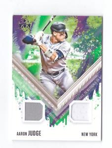 2021 Panini Diamond Kings AARON JUDGE Dual Game Jersey DK Materials NY Yankees